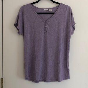 Extraordinary Soft Light Purple T-Shirt, Size L